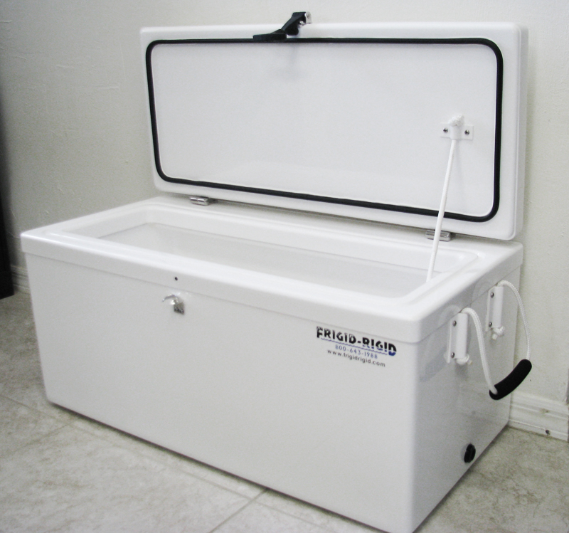 Coolers Custom Refrigerated Marine Fish Box Outdoor